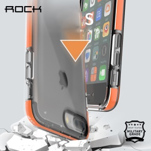 ROCK Military Guard S Series Drop Tested TPU Case for iPhone 7 Plus 5.5 - Orange