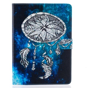 Patterned Leather Wallet Cover for iPad Pro 9.7 Inch - Galaxy and Dream Catcher
