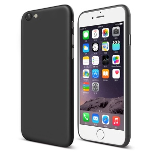 CAFELE 0.4mm Ultra-thin Matte Plastic Phone Case for Apple iPhone 8 / 7 - Black