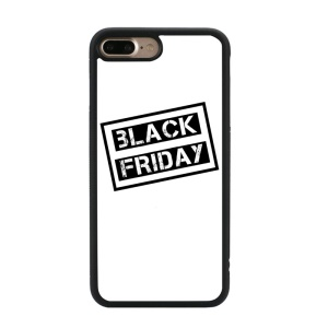 Black Friday Design TPU Phone Cover for iPhone 8 Plus / 7 Plus 5.5 inch - Style D