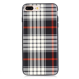 SULADA England Style Phone Case for iPhone 7 Plus with Cloth Texture (TPU) - Style B