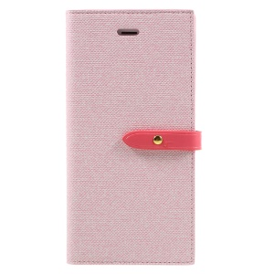 MERCURY GOOSPERY Milano Diary Leather Case for iPhone 7 Plus 5.5 with Wallet  Stand - Pink