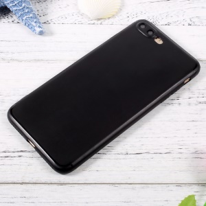 Jelly TPU Mobile Phone Case Accessory for iPhone 7 Plus 5.5 inch - Black