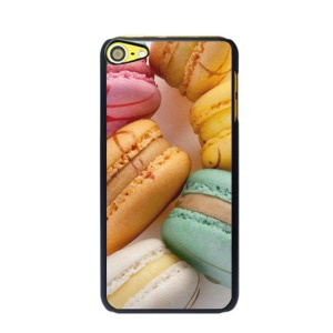 Macaroon Pattern Plastic Hard Case for iPod Touch 6 - Style A