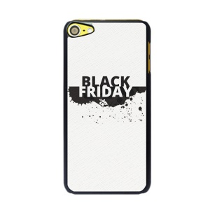 For iPod Touch 6 / 5 Black Friday Series Hard PC Mobile Phone Case - Style A