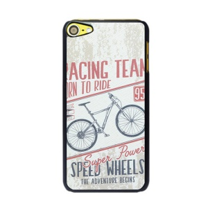 For iPod Touch 6 / 5 Retro Car Series Hard PC Cell Phone Case - Bicycle
