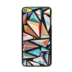 Irregular Pattern Series Hard PC Cell Phone Case for iPod Touch 6 / 5 - Triangles