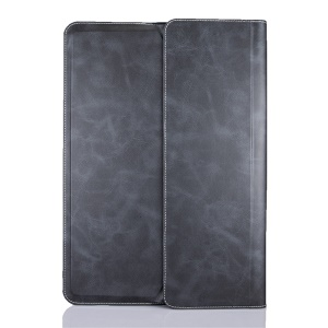 Origami Stand Wallet Universal Leather Case for iPad Pro 12.9 Inch - Black