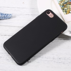 J-CASE Natural Color Ultra-thin TPU Mobile Case for iPhone 7 4.7 inch - Black