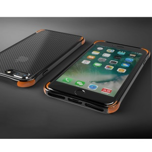 BOW Drop-proof Shock Absorption TPU Case for iPhone 7 Plus - Black