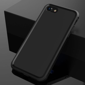 BOW Anti-cassa in TPU Matte Soft TPU per iPhone 8 / 7 4.7 inch - Nero