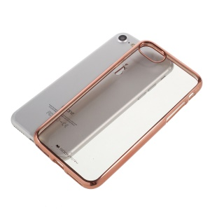 MERCURY GOOSPERY Ring 2 Case for iPhone 8 / 7 4.7 inch Electroplating TPU Soft Case - Rose Gold