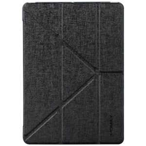 MOMAX Origami Tri-fold Stand Leather Smart Case for iPad 9.7 inch (2017) - Black