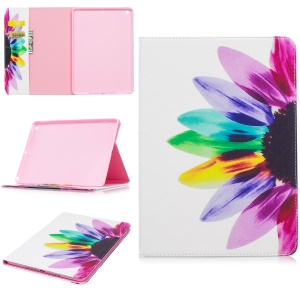 Pattern Printing Wallet Leather Stand Tablet Casing for iPad Pro 9.7 inch - Colorful Petals