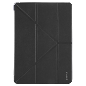 BASEUS Y-type Tri-fold Stand Origami PU Leather Smart Cover for iPad Pro 10.5-inch (2017) - Black