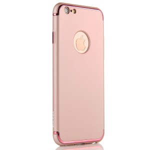 SULADA Electroplating Mate Skin PC Hard Phone Shell para iPhone 6s / 6 - flecha ouro