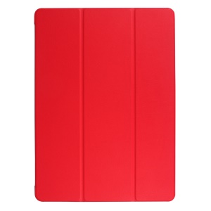 Tri-fold Smart Leather Shell per iPad Pro 12.9 (2017) - Rosso