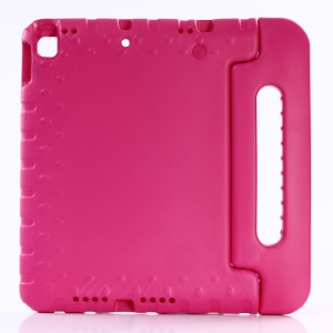 For iPad Pro 10.5-inch (2017) Shockproof Kids Friendly EVA Foam Case with Handle Stand - Rose