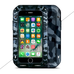 LOVE MEI Camo Series for iPhone 8 / 7 4.7 Camouflage Shockproof Drop-proof Dirt-proof Protection Phone Case - City