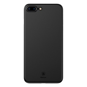 BASEUS Wing PP Hard Phone Shell for iPhone 8 Plus / 7 Plus - Black