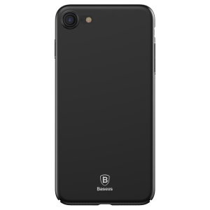 BASEUS Thin Hard Plastic Phone Shell for iPhone 8 / 7 4.7 inch - Black