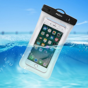 Rock Waterproof Bag for iPhone 7s Plus/7 Plus Samsung Galaxy S8+ - Black