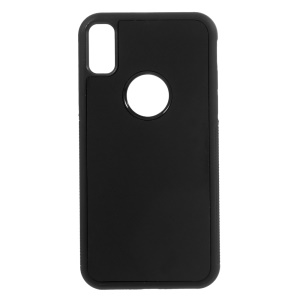 Magic Sticks Anti-Gravity Case Sitck to Mirror Hands-free for iPhone X/XS 5.8 inch - Black