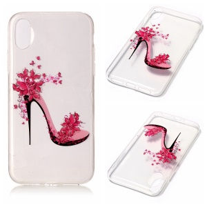 Soft IMD TPU Gel Mobile Case for iPhone8 - Stiletto