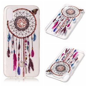 Slim IMD TPU Flexible Case Shell for iPhone8 - Dream Catcher