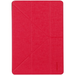 MOMAX Origami Stand Smart Leather Case for iPad Pro 12.9 (2017) - Red