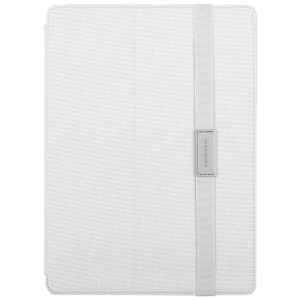 MOMAX Auto Wake & Sleep Oxford Tablet Case Shell with Stand for iPad Pro 12.9 (2017) - White