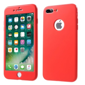 Purchased WUW K85 Touchable Front + Back 2-Piece TPU + PC Phone Case for  iPhone 8 Plus / 7 Plus 5 5 inch - Red