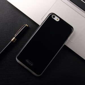 MOLAN CANO for iPhone 6/6s 4.7-Inch Boost Series Detachable PC + TPU Cover Case with Hidden Card Holder - Black