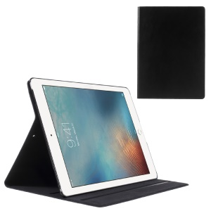 DOORMOON cuero genuino soporte tableta para iPad Pro 12.9 pulgadas - negro