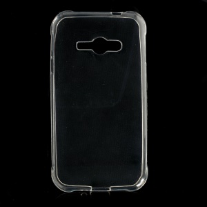 Ultrathin Soft TPU Cover Case for Samsung Galaxy J1 Ace SM-J110 - Transparent