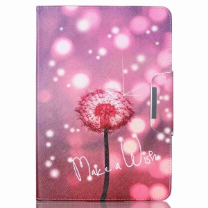 Smart Leather Cover Case for Samsung Galaxy Tab A 9.7 T550 T555 - Make A Wish and Beautiful Dandelion