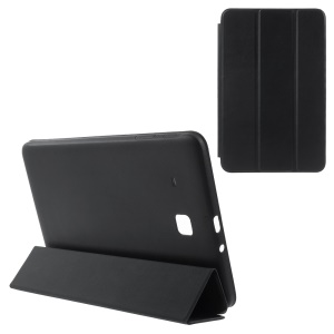 Leather Cover for Samsung Galaxy Tab E 9.6 T560 with Tri-fold Stand - Black