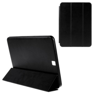 Leather Cover for Samsung Galaxy Tab S2 9.7 T810 T815 with Tri-fold Stand - Black
