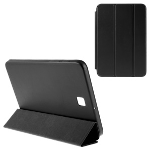 Leather Case for Samsung Galaxy Tab S2 8.0 T710 T715 with Tri-fold Stand - Black