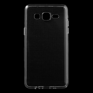 Slim Glossy Soft TPU Case for Samsung Galaxy On5 - Transparent