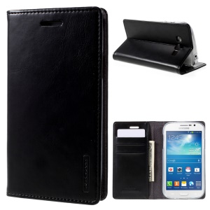 MERCURY GOOSPERY Blue Moon Leather Case for Samsung Galaxy Grand Neo I9060 I9062 - Black