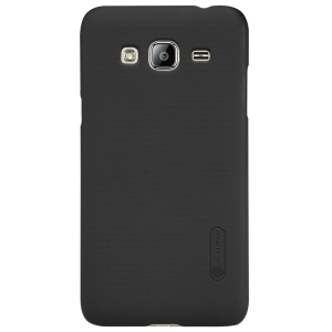 NILLKIN Super Frosted Shield for Samsung Galaxy J3 (2016) / J3 Hard PC Case - Black