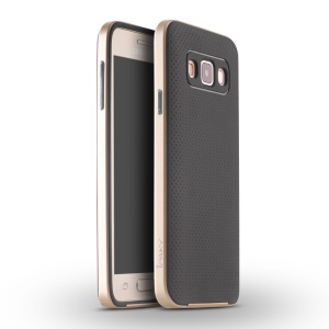 IPAKY Hybrid PC TPU Phone Case for Samsung Galaxy A5 SM-A500F - Gold
