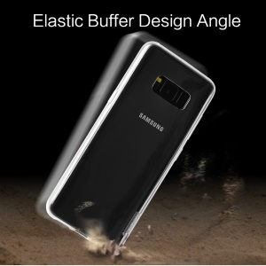 X-LEVEL Clear TPU Anti-slip Cell Phone Cover for Samsung Galaxy S8 G950 - Transparent