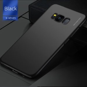 X-LEVEL Knight Series Matte Finish Hard PC Phone Back Case para Samsung Galaxy S8 SM-G950-Preto