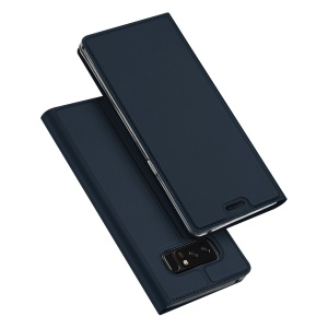 DUX DUCIS Skin Pro Series Stand Leather Cover Case for Samsung Galaxy Note 8 - Dark Blue