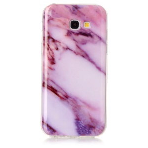 Marble Pattern IMD TPU Mobile Phone Case for Samsung Galaxy A5 (2017) A520 - Purple