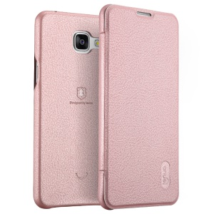 LENUO Ledream Series Leather Shell for Samsung Galaxy A5 SM-A510F - Pink