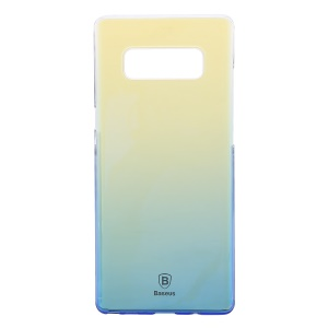 BASEUS Glaze Case Gradual Color Changing PC Hard Cover for Samsung Galaxy Note 8 SM-N950 - Blue