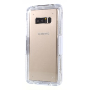 Snow-proof Dirt-proof IP68 Waterproof Case for Samsung Galaxy Note9 N960 / Note 8 SM-N950 - White